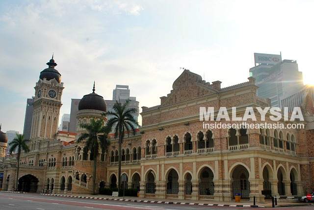 Around the Old District of Kuala Lumpur