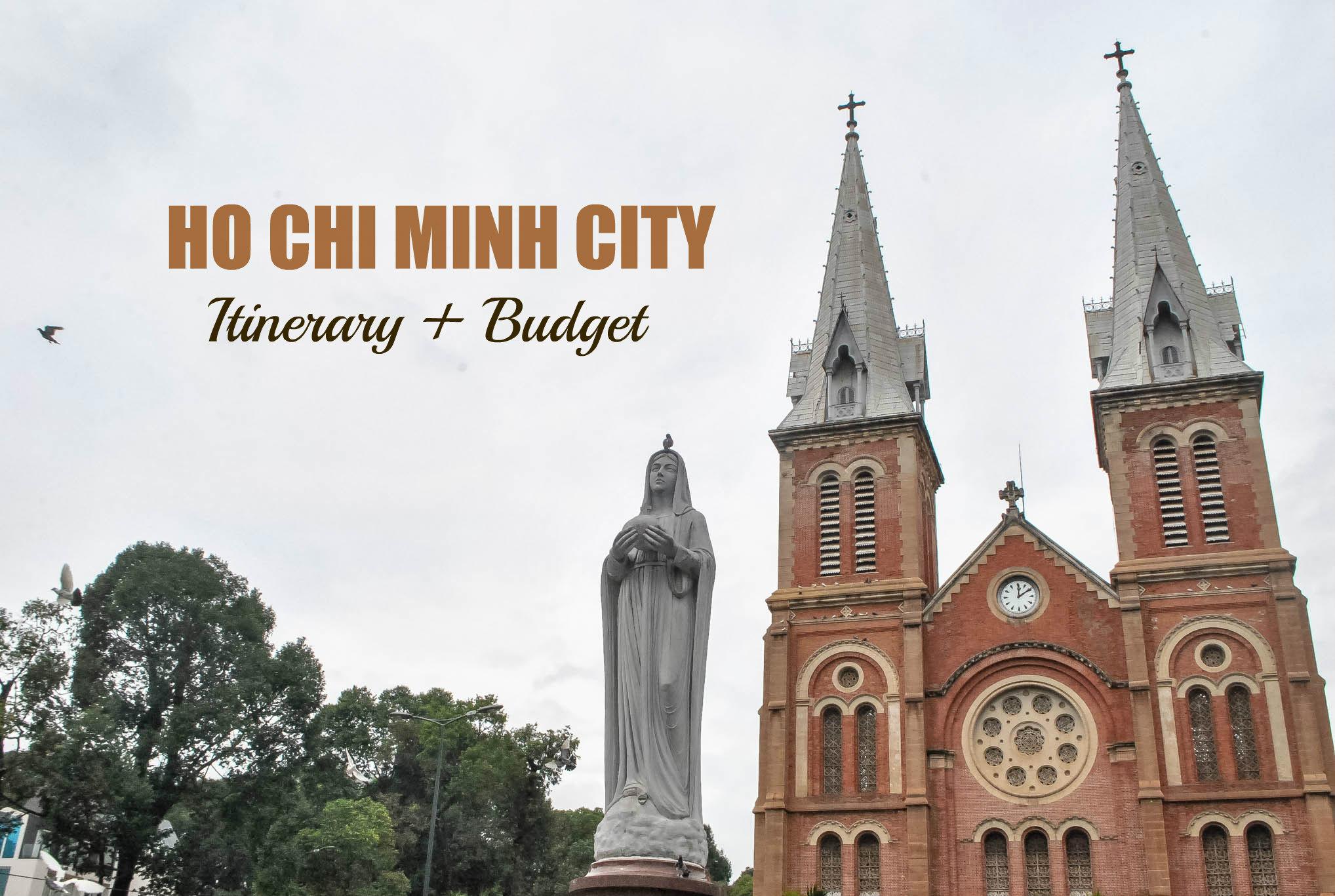 Vietnam: HO CHI MINH CITY ITINERARY 2017